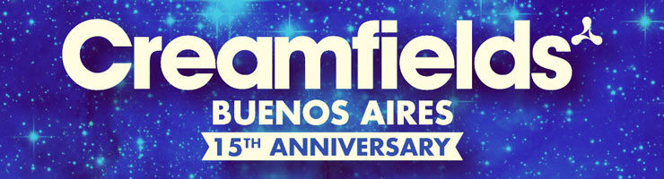 Creamfields Buenos Aires 2015 15th Anniversary Small